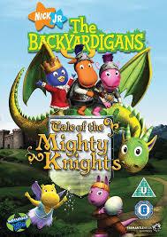 Backyardigans Movies Backyardigans The Tale Of The Mighty Knights Dvd Amazon Co Uk