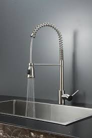 best kitchen faucet with sprayer adorable sink faucet design grey industrial wallpaper curved on