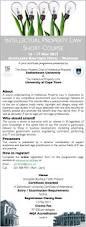 Unit Secretary Course Certificate Short Course Ip Law Cip The Anton Mostert Chair