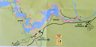 K Map 7 Hiking Trails Of Plitvice Lakes National Park U2013 Croatia Two Up