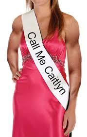 caitlyn jenner costume sash call me catilyn bruce jenner costume
