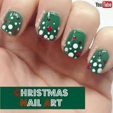 best 25 easy christmas nails ideas on pinterest easy christmas