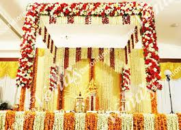 hindu decorations for home wedding decoration in trivandrum stage decorations for