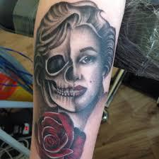 tattoo portraits on arm swansea tattoo lab mike thomas