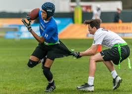 Flag Football Equipment Seahawks Support Youth Flag Football At 2017 Pro Bowl Seattle
