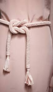 grosgrain ribbon belt rope cord belt with grosgrain ribbon tassels my style