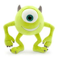mike wazowski plush monsters small 10 1 2 u0027 u0027 shopdisney