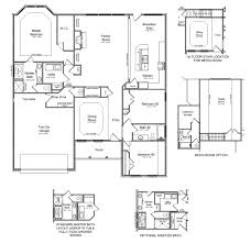 Single Story House Plans With 2 Master Suites Floor Plans