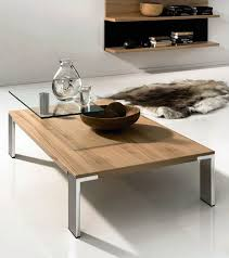 furniture real oak wood coffee tables design ideas with square