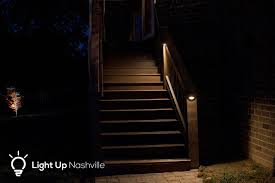 led deck lighting led step lighting light up nashville