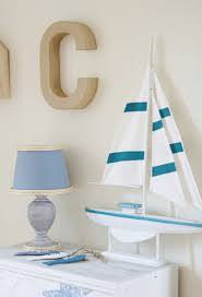 nautical lamp makeover using