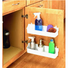 kitchen sink cabinet caddy door organizers door mounted racks shelves organizers