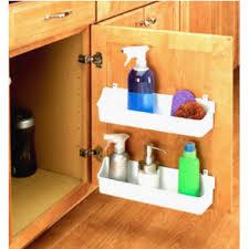 kitchen sink cabinet caddy door organizers door mounted racks shelves organizers
