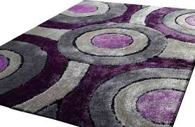 Non Toxic Rugs Bedroom Area Rug Purple Rectangle White Leaf Pattern Awesome