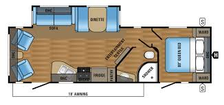 Floorplanes 2017 Jay Flight Travel Trailer Floorplans U0026 Prices Jayco Inc