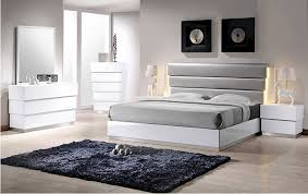 Modern Bedroom Collections Milan White Bedroom Set Contemporary Bedroom