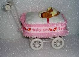 african american carriage baby shower topper diaper cakes