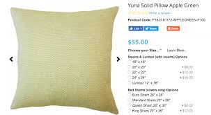 Factory Direct Home Decor Cheap Pillow Cushion Cover Buy by Size It Up A Guide To Throw Pillow Sizes The Pillow Collection