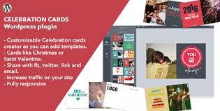 celebration cards plugin former cards by