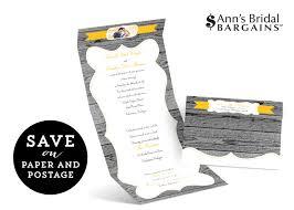 seal and send wedding invitations s bridal bargains seal send wedding invitations