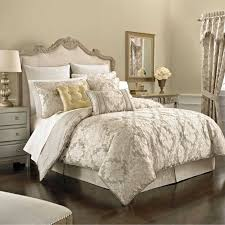 Cream Bedding And Curtains Cream Curtains Brown Wooden Bed Brown Wooden Floor Silver
