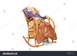 Grandma In Rocking Chair Clipart Grandmother Sleeps Armchairrocking Chair Stock Photo 38673793