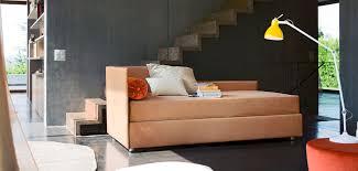 contemporary daybed fabric leather indoor centouno bonaldo