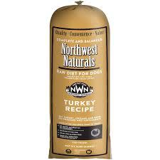 northwest naturals raw diet grain free turkey chub roll raw frozen