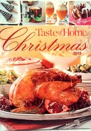 taste of home recipes for thanksgiving taste of home christmas 2013 amazon com books