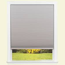 Home Depot Blackout Shades Redi Shade Easy Lift Trim At Home White 9 16 In Cordless Point