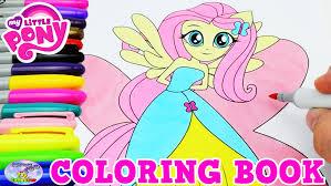 my little pony coloring book fluttershy mlpeg episode surprise egg