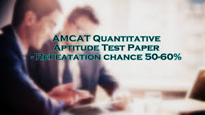 amcat quantitative aptitude test paper repeatation chance 50 60