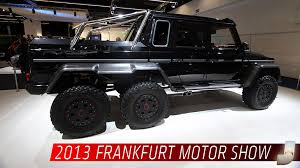 six wheel mercedes suv this 6x6 will dominate every other suv at the mall