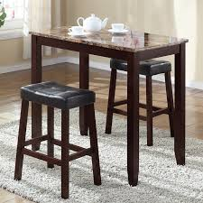 3 piece counter height table set andover mills daisy 3 piece counter height pub table set reviews