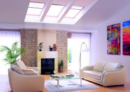 modern living room with skylight living room pinterest