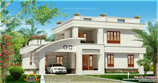 villa exterior in 2800 square feet kerala home design and floor