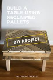 how to make a diy pallet coffee table for under 25