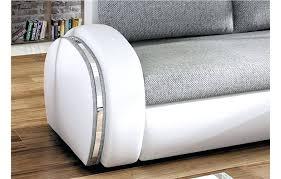 canapé gris simili cuir canape canape d angle bicolore canapac dangle convertible gris et