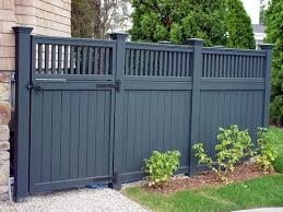 Gate For Backyard Fence Best 25 Fence Paint Colours Ideas On Pinterest Grey Fence Paint