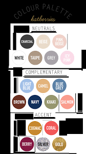 katberries step 4 colour palette 5 steps to a capsule wardrobe