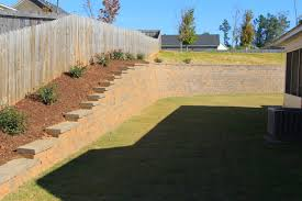 retaining walls erosion control landscaping lawn care and