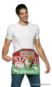 Candy Apple Halloween Costumes Petting Zoo Funny Costume Candy Apple Costumes Men U0027s