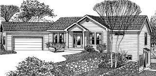 Angled House Plans Walkout Basement House Plan Great Room Angled Garage
