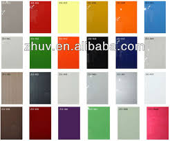 High Gloss Wood Grain Painted Kitchen Cabinet Buy High Gloss - High gloss kitchen cabinet doors