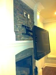 creative tv mounts diy tv mounting creative over fireplace mount best mounts over