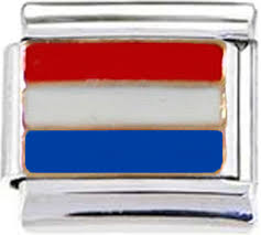 Hollanda Flag Flags Enamel