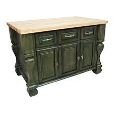 tuscan kitchen islands jeffrey tuscan kitchen island in aqua green