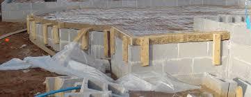 Patio Foundation Concrete Block Foundation Walls
