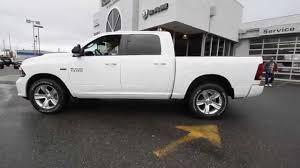 white dodge truck 2015 dodge ram 1500 sport crew cab white fs502690 mt vernon