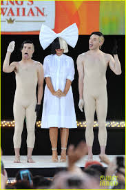 Dressing Room Pictures by Sia Admits To Crying In Her Dressing Room Before U0027gma U0027 Performance